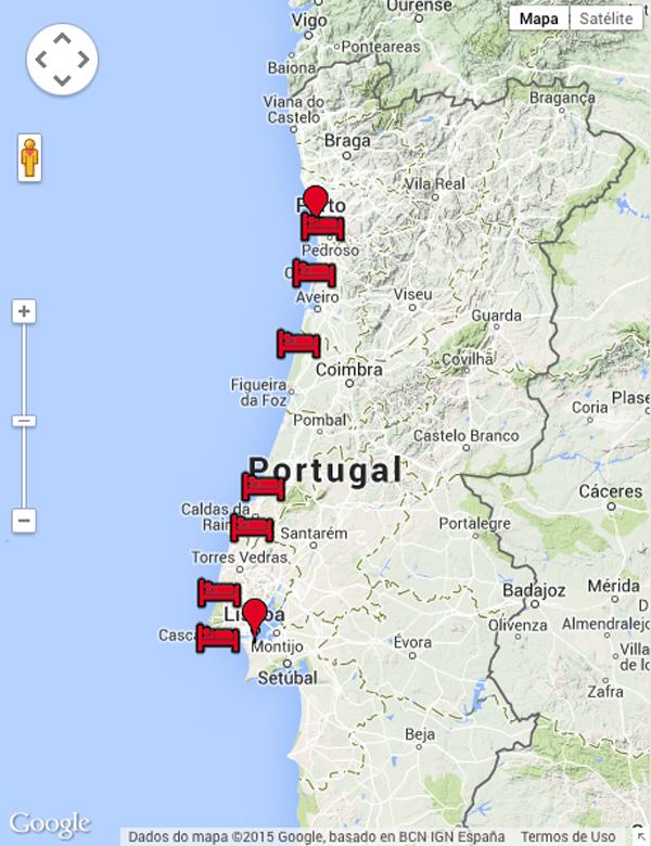 Adagio tours van porto naar lissabon for Adagio portugal